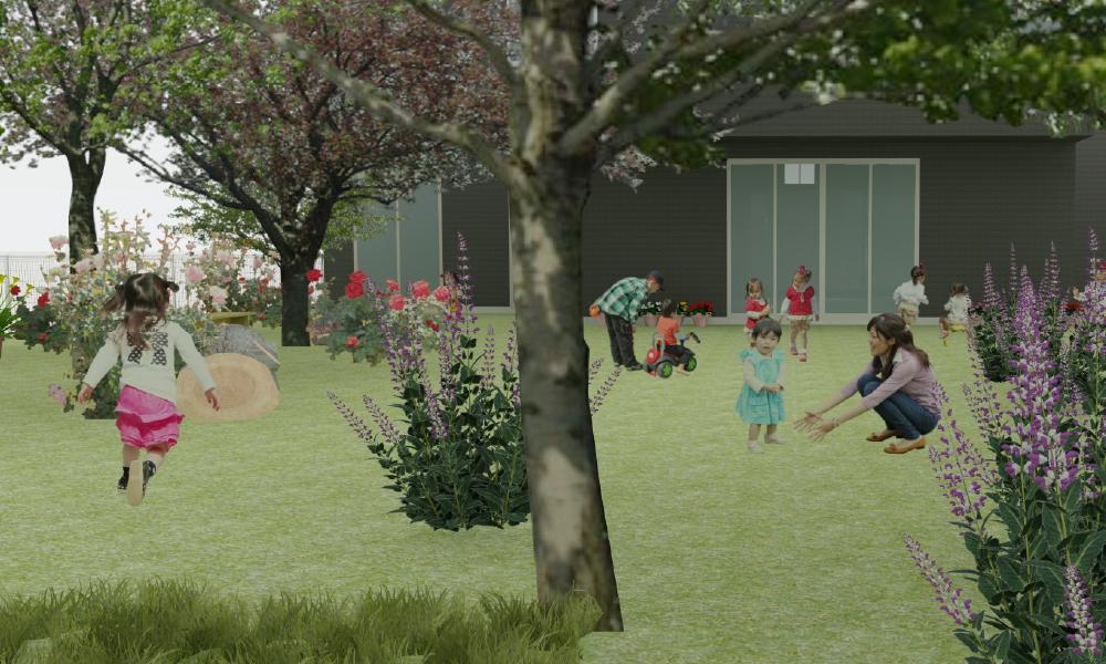 地域に開かれた庭園を。 STELLA ガーデンカフェ構想を具体化。