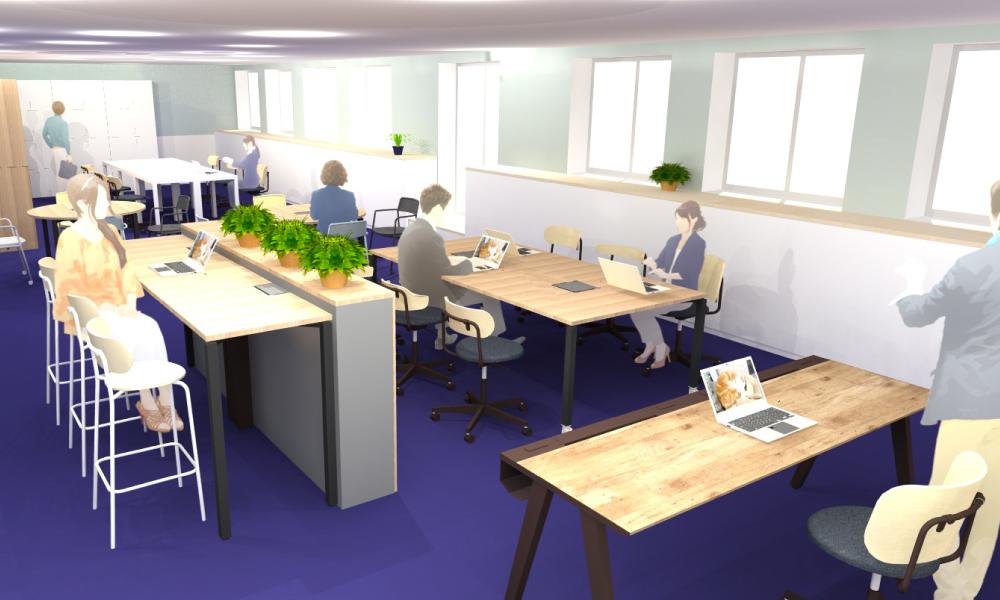 本社オフィスを移転!新社屋にActivity Based Working(ABW)を導入